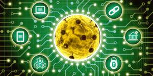 Koronavirus blockchain