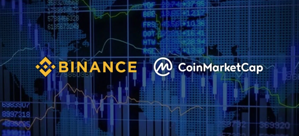 Binance in Coinmarketcap